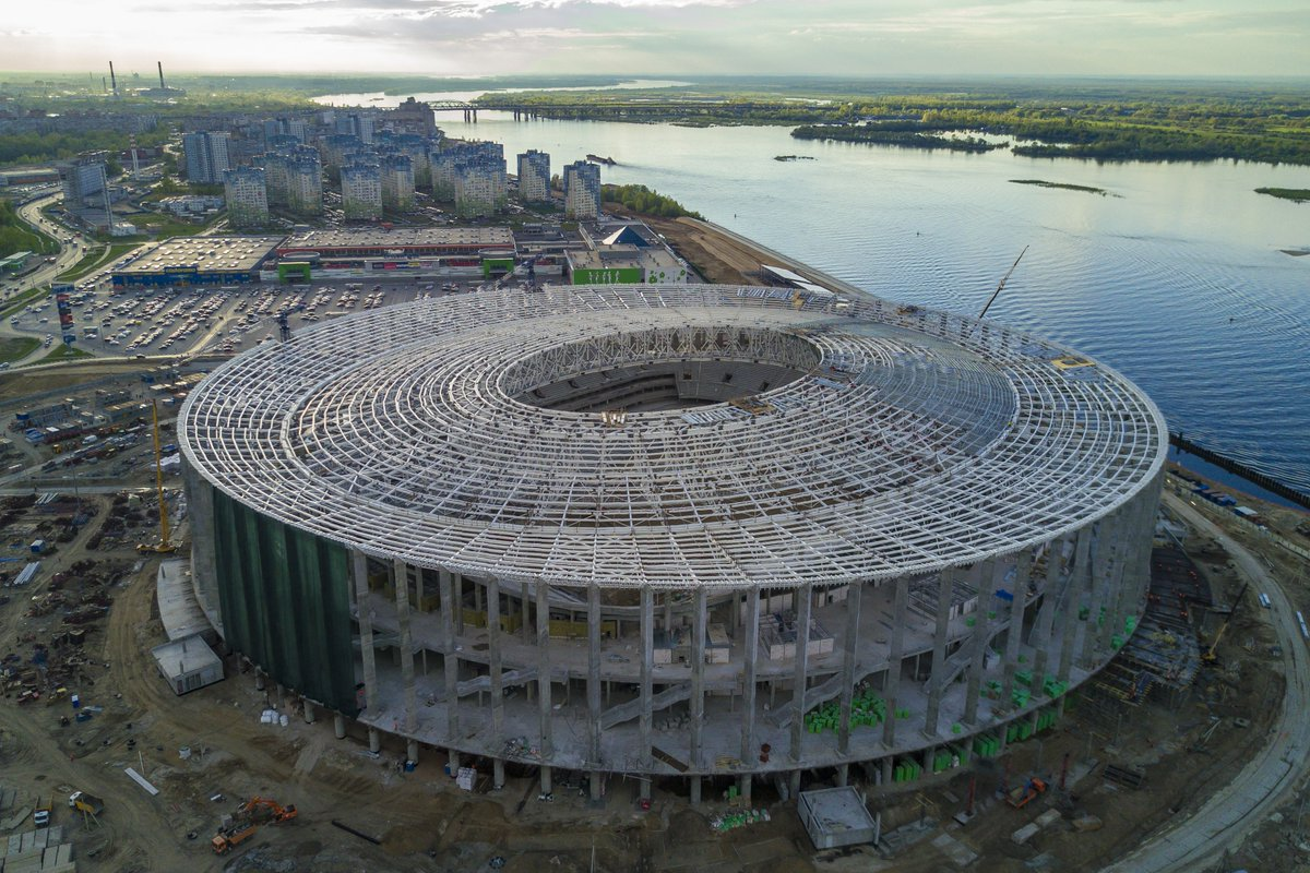 Workers are being exploited at Russia's 2018 World Cup venues, Human Rights Watch says