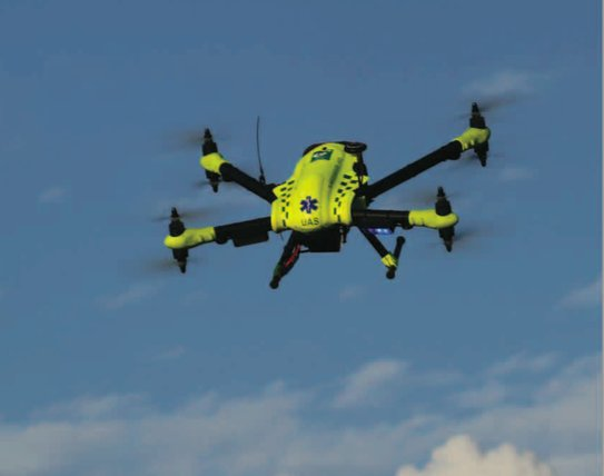 Could a drone help save a life faster than an ambulance?