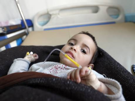One child infected with cholera every minute in Yemen