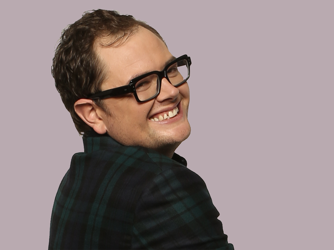 Happy birthday to the openly gay British comedian Alan Carr (