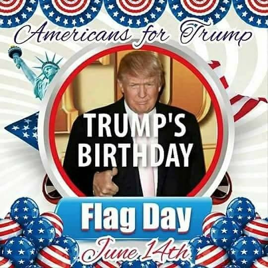 HAPPY  BIRTHDAY \ DONALD TRUMP ***