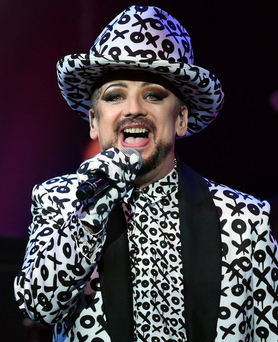 Happy Birthday wishes to the evergreen & overflowingly talented Boy George !
