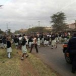 Pupils block Jogoo Road in protest after matatu kills one of them