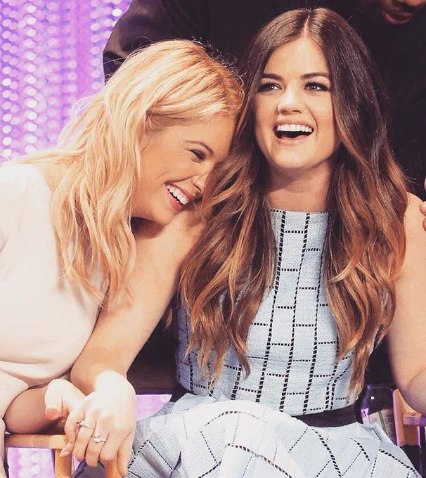 Happy birthday to Lucy Hale. Her friendship with Ashley is so cute and pure