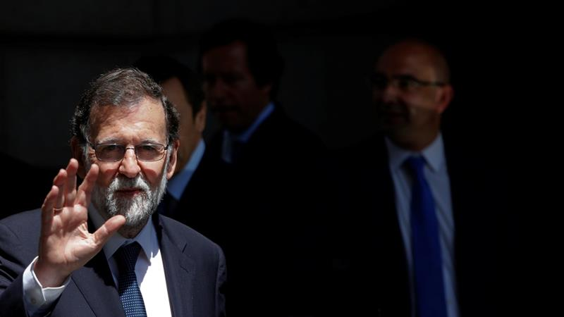 Spain's Prime Minister Mariano Rajoy survives no-confidence vote