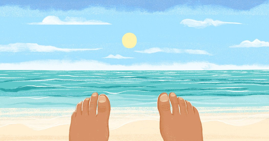 How to Be Mindful at the Beach