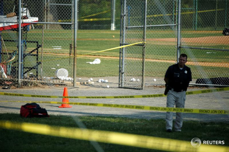 Gunman wounds several at congressional baseball practice in Virginia. LIVE UPDATES: