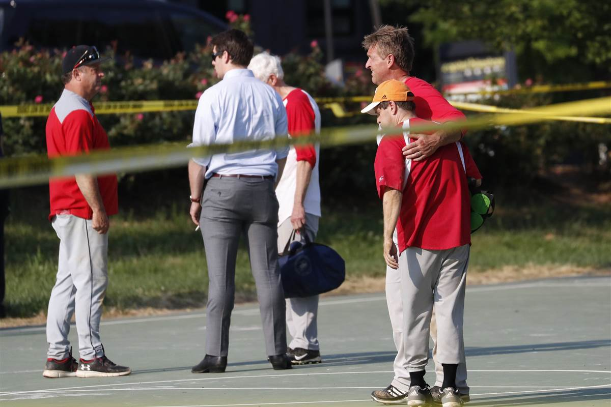 Zachary Barth, staffer shot at baseball practice, says he's OK