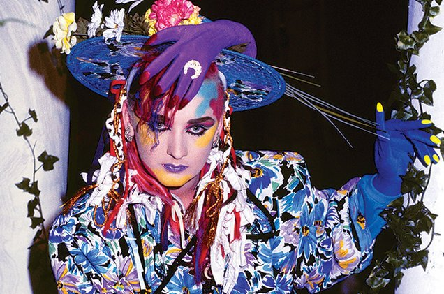 Happy Birthday Boy George (56) Still Has Better Make Up Than I Do ~