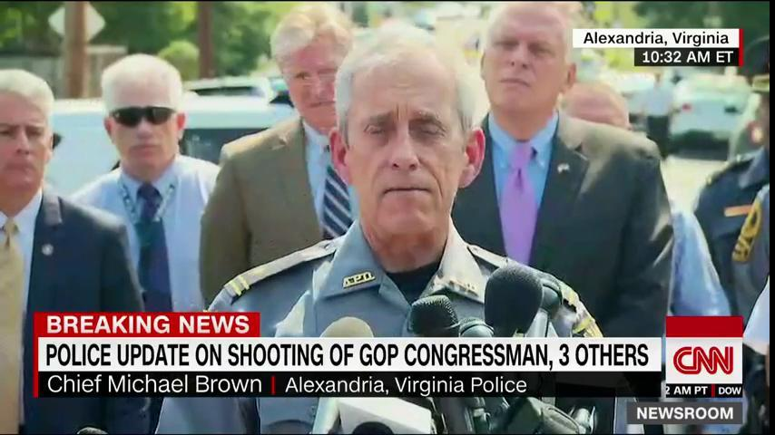 Officials are giving updates on GOP baseball practice shooting. Watch live on CNN or @CNNgo: