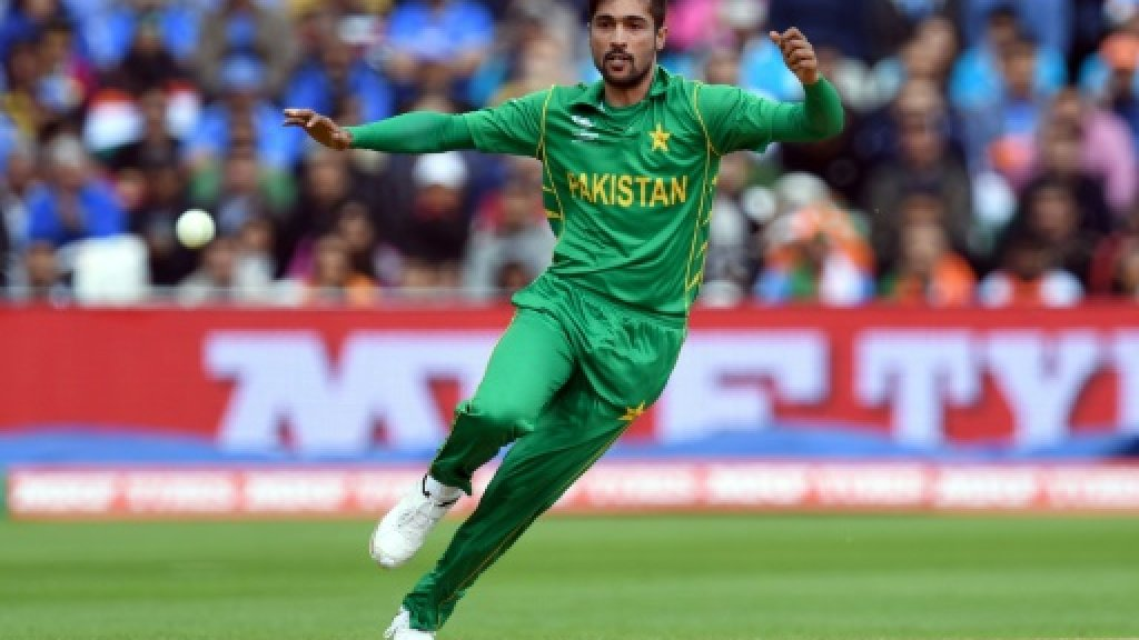 Amir out as Pakistan field in England Champions Trophy semi