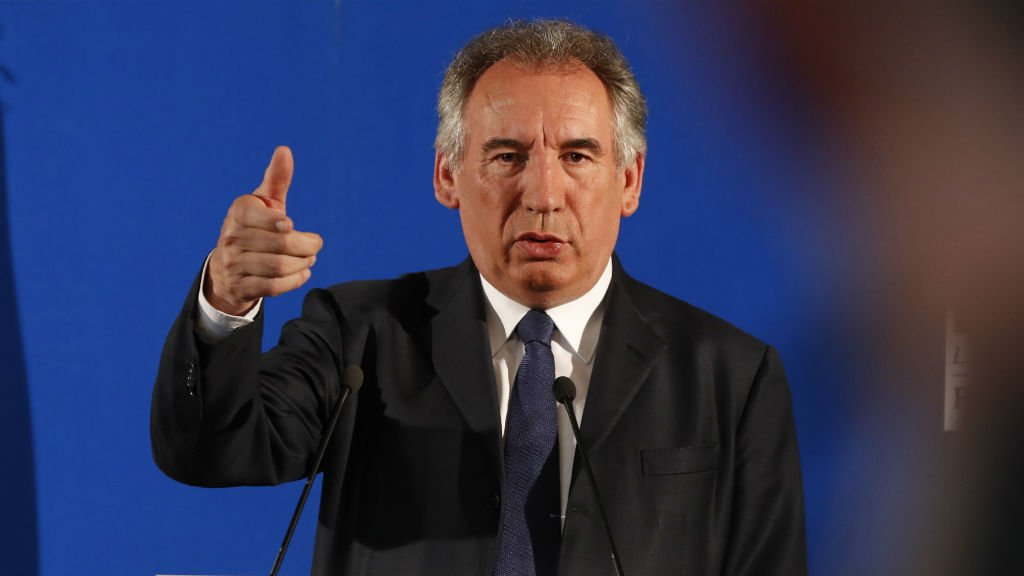 France's embattled justice chief, François Bayrou, unveils clean politics bill