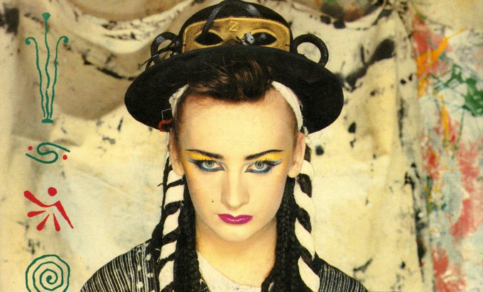Happy 56th birthday Boy George!!