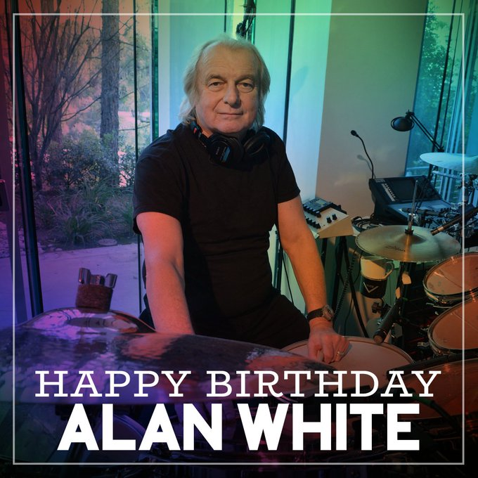 Happy Birthday to Alan White of We\ll see you here August 29th for YESTIVAL!