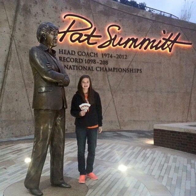 Happy Birthday to the legend, Pat Summitt! So deeply missed.