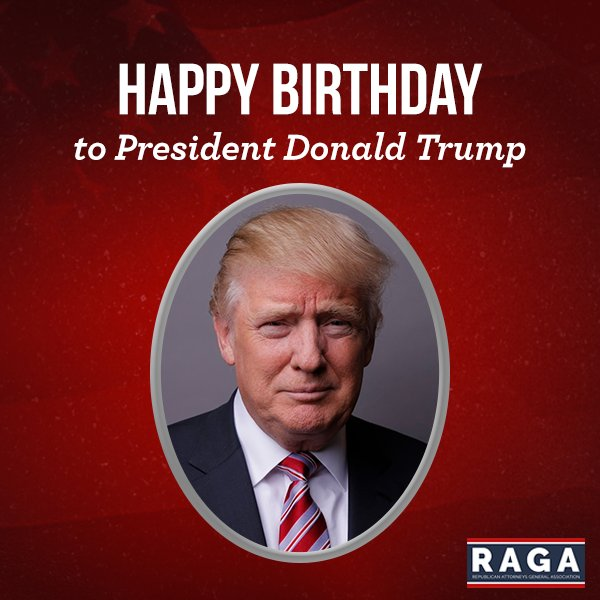 Wishing Donald Trump a Happy Birthday!