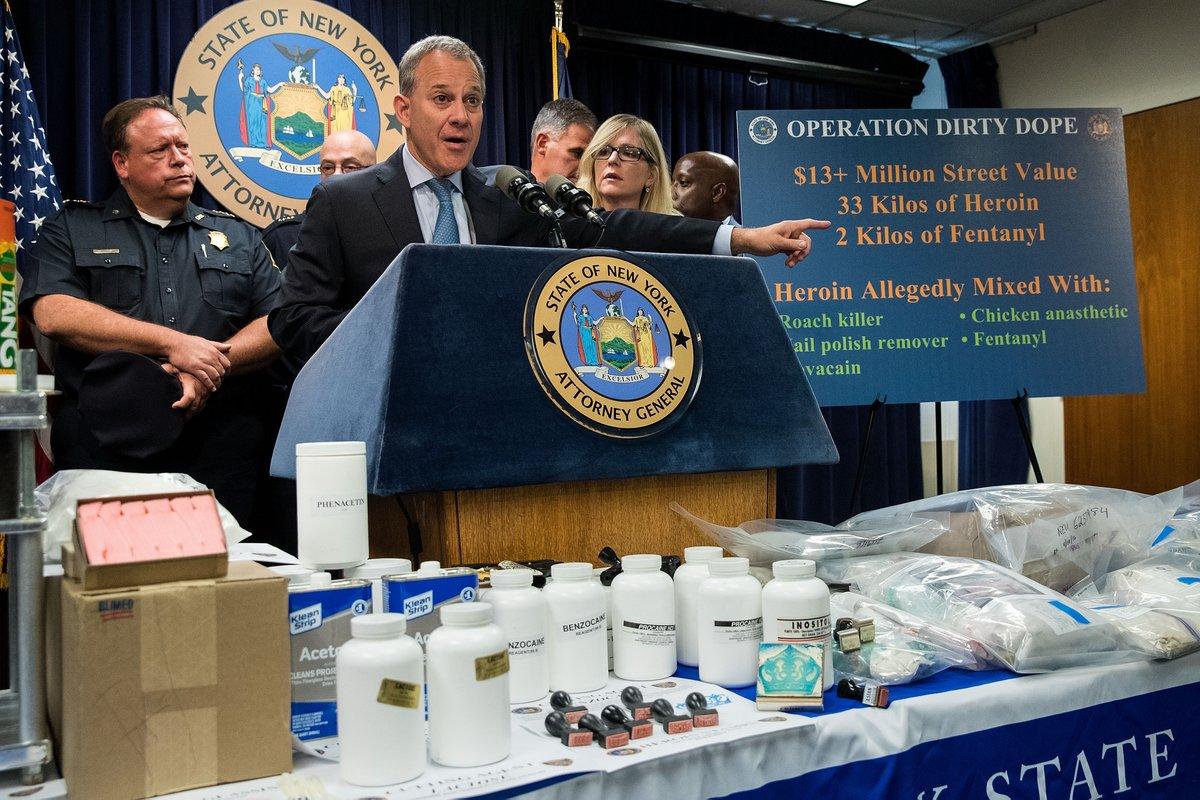 Fentanyl sparks a big increase in drug overdose deaths in New York City