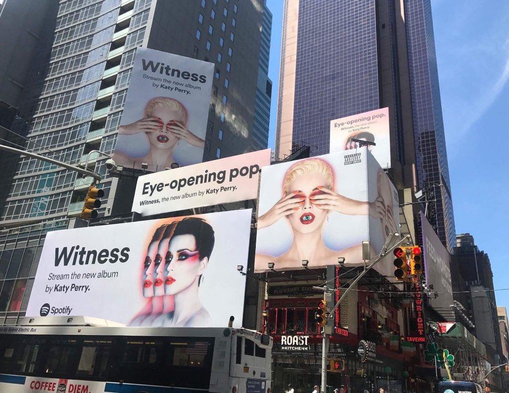 We #WITNESS you @Spotify...Keep streaming you streamers! https://t.co/N2JA9lPtA1 -TeamKP https://t.co/H0PUudkDHr