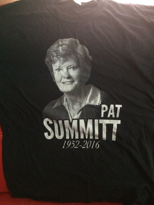 Happy birthday Coach Pat Summitt RIP