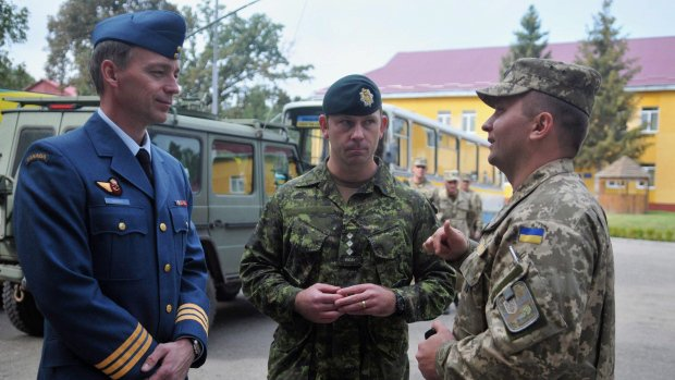 Ottawa eases restrictions on military mission in Ukraine
