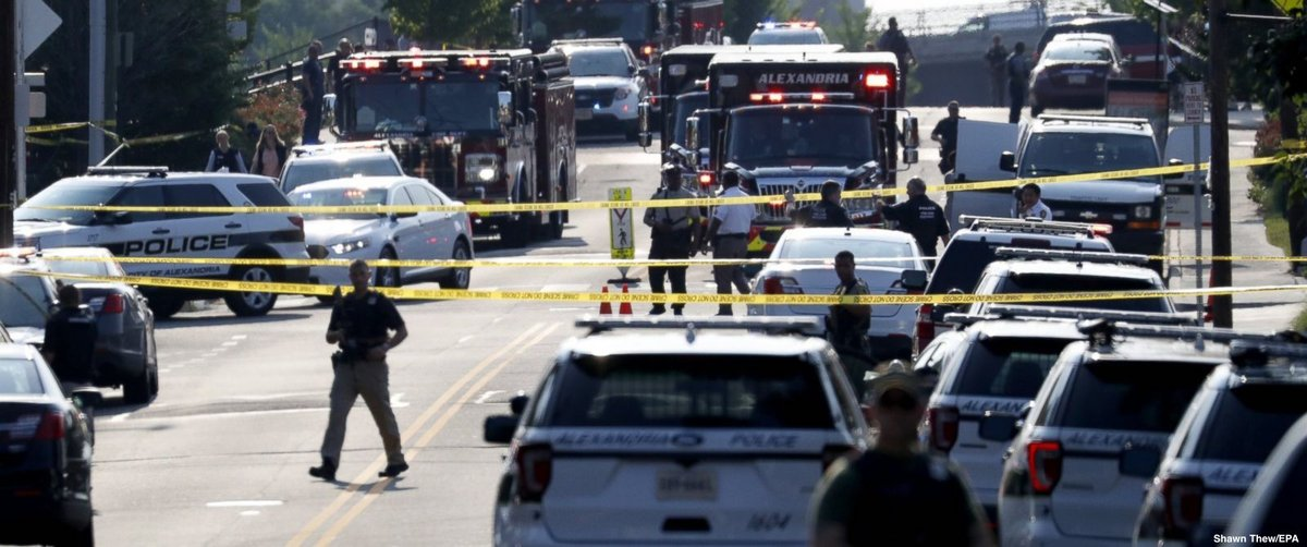"GOP senator recalls ""burst of gunfire"" at Virginia baseball field: ""People were dropping"""