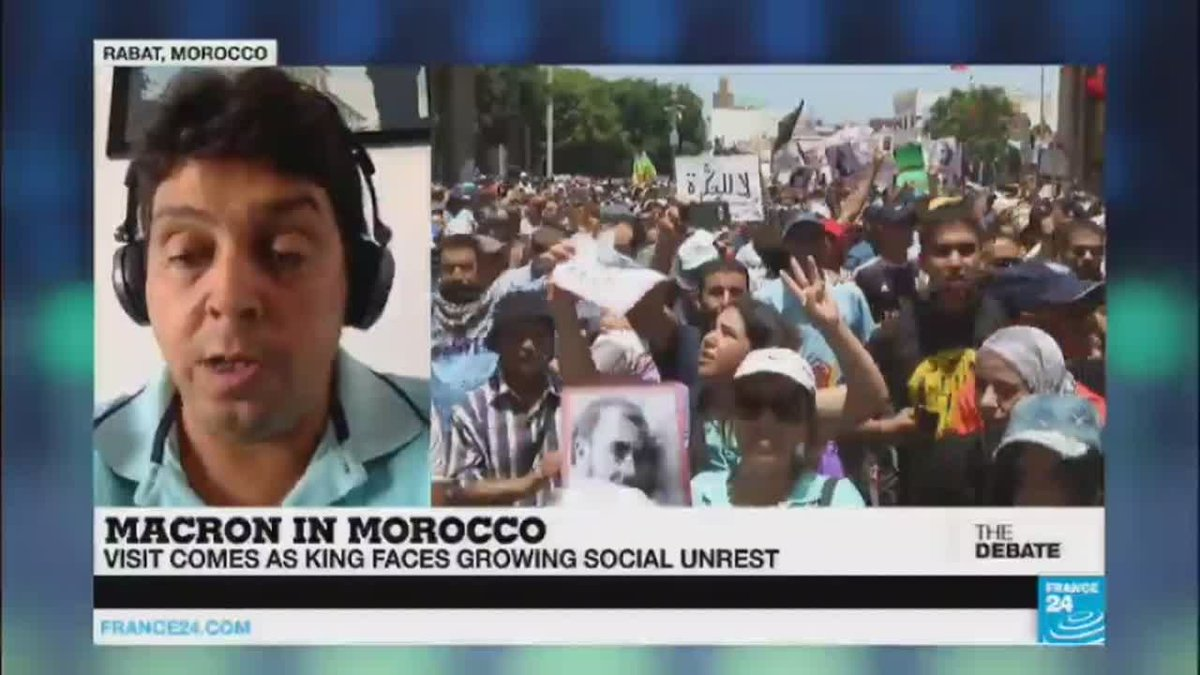 ?? Macron in Morocco, High stakes first presidential visit to North Africa (part 2)