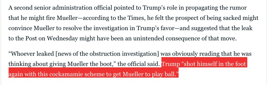 OUCH! Even Trump's aides are blaming him for this new obstruction of justice probe. https://t.co/zB4gOoIUo6 https://t.co/tw7DKbnZW8