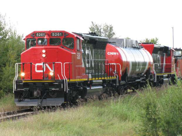 CN Rail investing in technology to improve safety, CEO not concerned about NAFTA