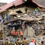 LATEST: Mother of 2 kids rescued from collapsed building in Kenya dies