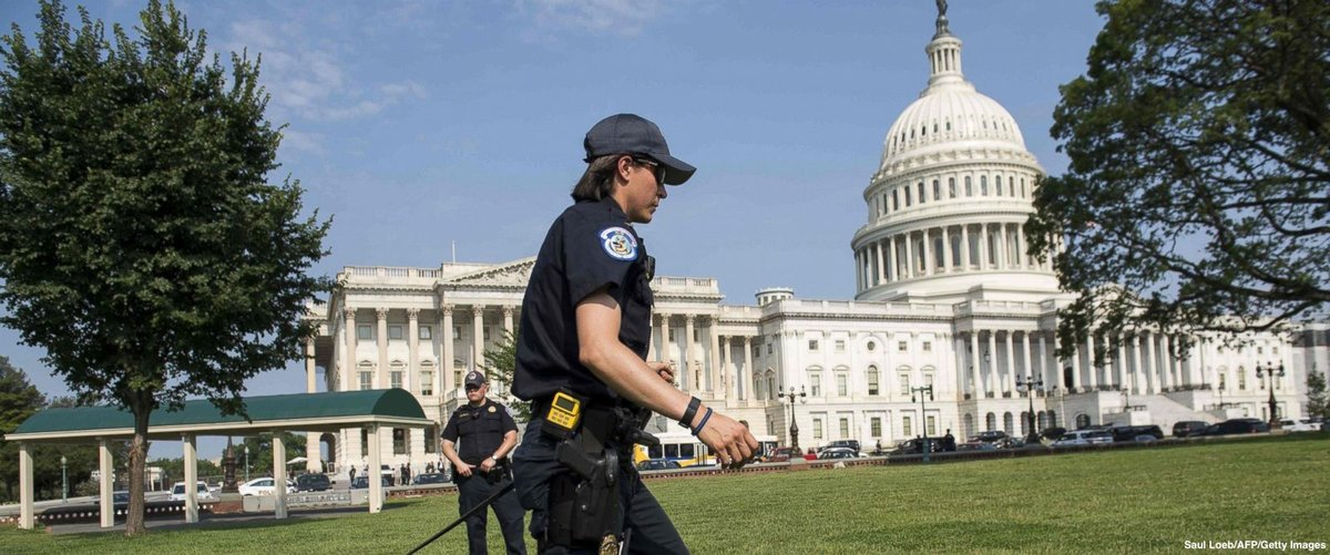 "Two Capitol Police officers credited with preventing ""massacre"" at GOP baseball practice."