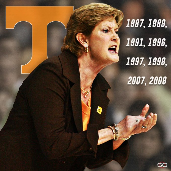 Happy birthday to the greatest of all time, Coach Pat Summitt!