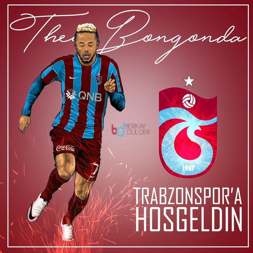 RT @61Yakreb: FOTO - Trabzonspor'a Hoşgeldin Theo Bongonda ! 🔴🔵🙏 https://t.co/EdPfF1angQ