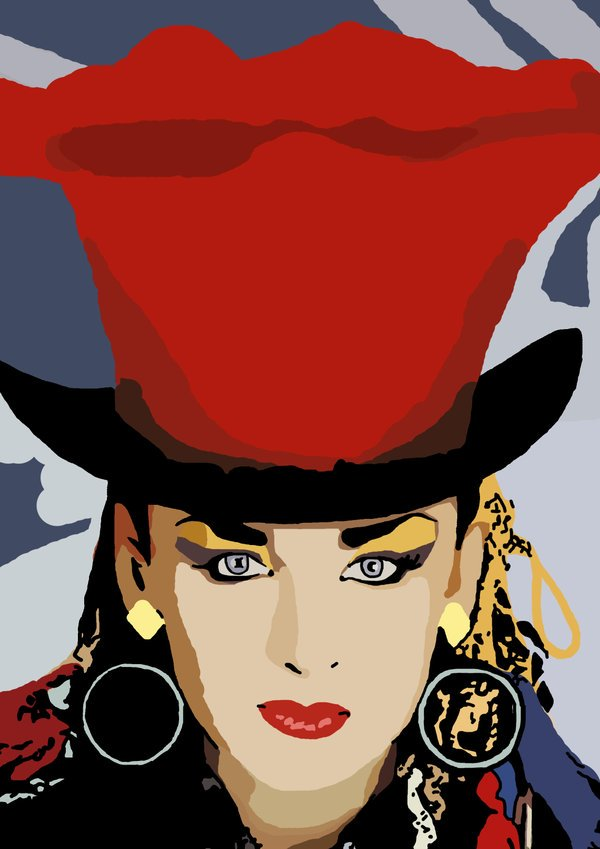 Boy George - The Crying Game   Happy Birthday George!