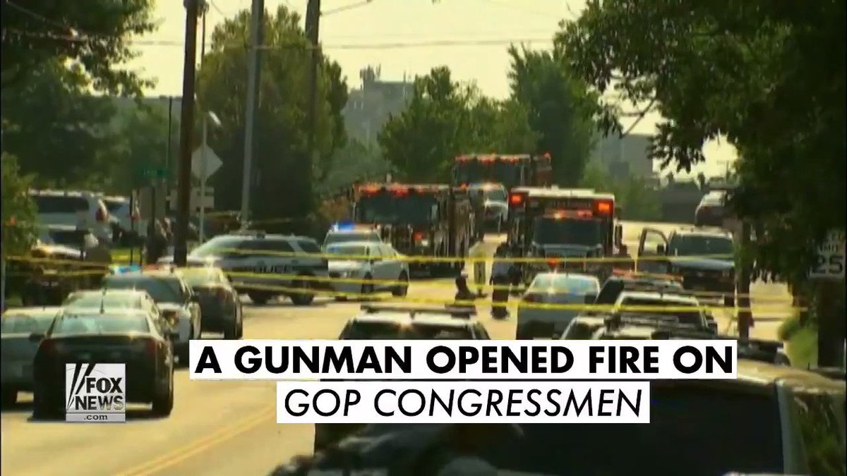 .@GOP & @TheDemocrats were united in condemning today's shooting of the GOP baseball team.