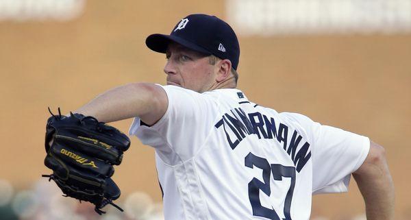 Jordan Zimmermann's best outing falls short in Tigers' loss to D'backs