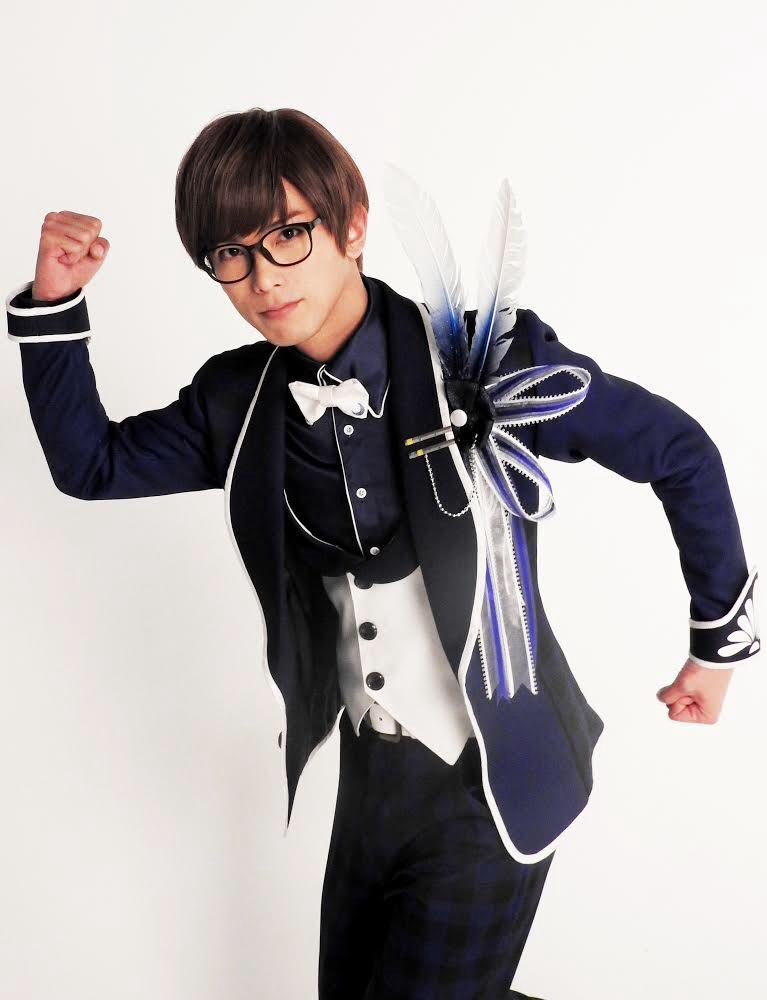 B-PROJECT on STAGE 『OVER the WAVE!』の撮影風景をお届けします!釈村帝人役の平牧仁さん!