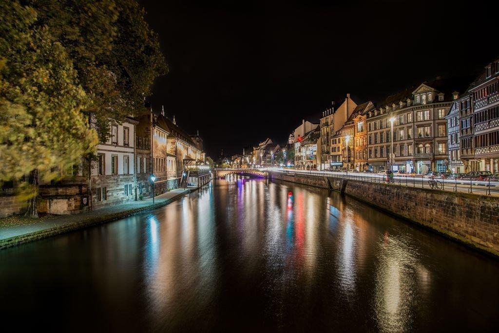 Long exposure photograph taken in Strasbourg, France..  https://t.co/Hq1moWulYd https://t.co/J15ii3C3IT