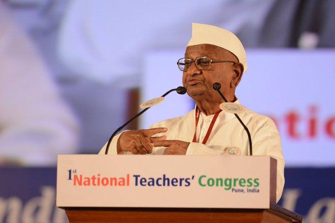 Happy Birthday to Anna Hazare   About: