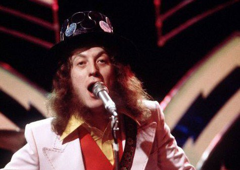 Happy 71st Birthday Noddy Holder of SLADE, one of the UK\s most successful acts of the 1970s.