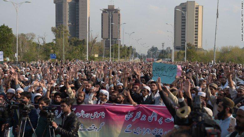 Pakistan sentences a man to death for Facebook posts that a prosecutor called blasphemous.