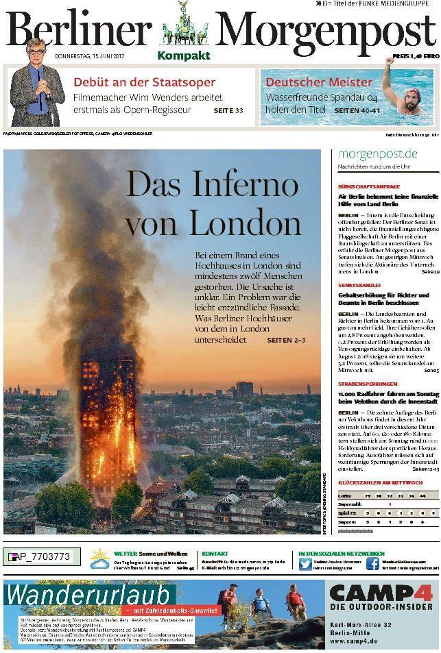 #LondonFire