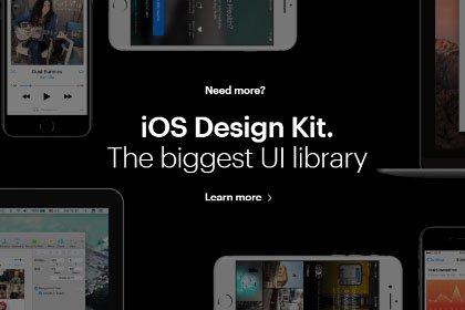 iOS Design Kit Free Demo Freebies FreeResources FreeDownload