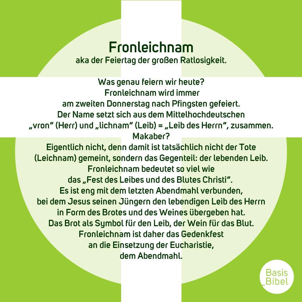 #fronleichnam