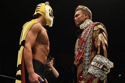 オカダ「今度はタッグを組んでもおもしろいんじゃないかなと。タイガーマスクWがCHAOS  ←詳細 #プロレス #新日本プ