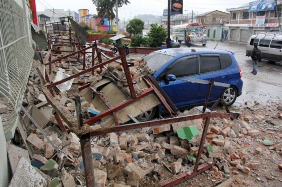 Five dead after strong quake hits Guatemala