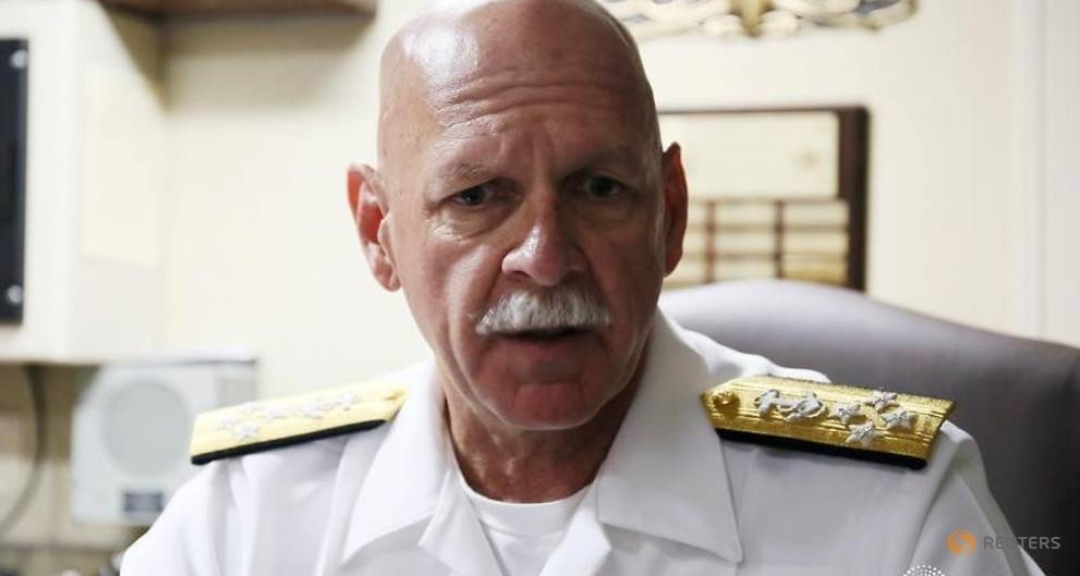 US commander says ships on course for more days in South China Sea