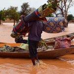 Niger floods: Nine children killed as homes collapse