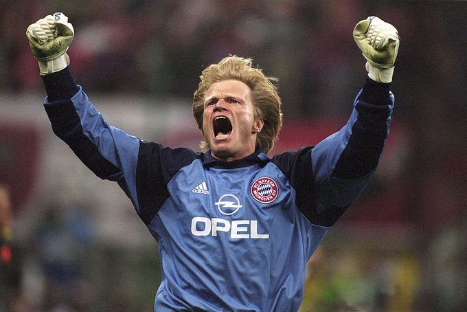 Happy 48th birthday to Oliver Kahn.  He\s the only goalkeeper in history to win the World Cup Golden Ball award!