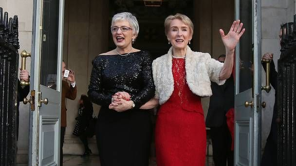 Minister Katherine Zappone 'heartbroken' at death of wife Dr Ann Louise Gilligan