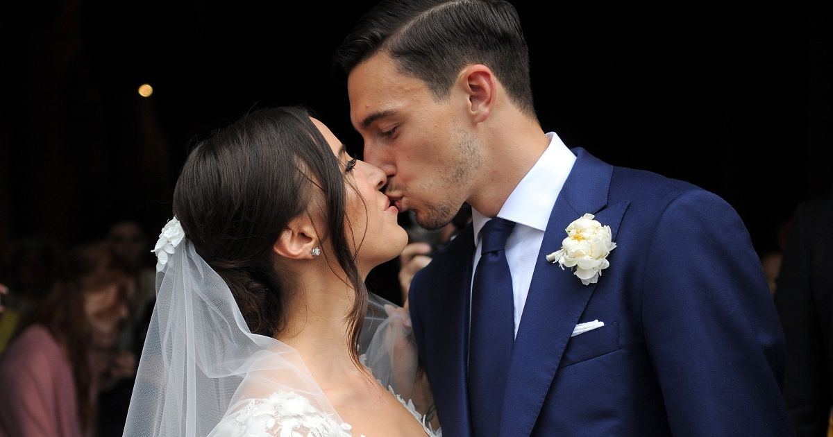 Manchester United star Matteo Darmian gets married in lavish wedding ceremony in Italy